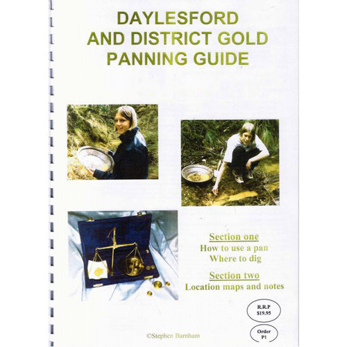 Likely Prospects Daylesford Gold Panning Guide
