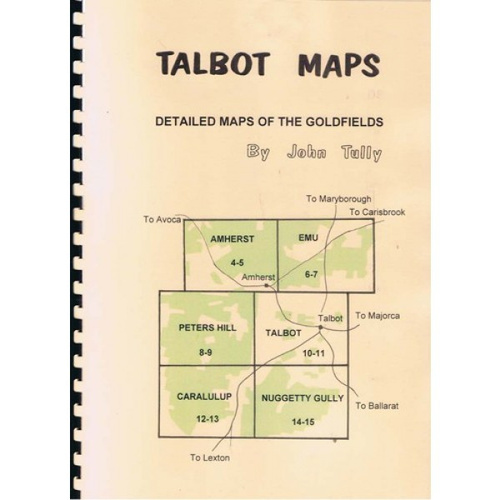John Tully Talbot Goldfields Map