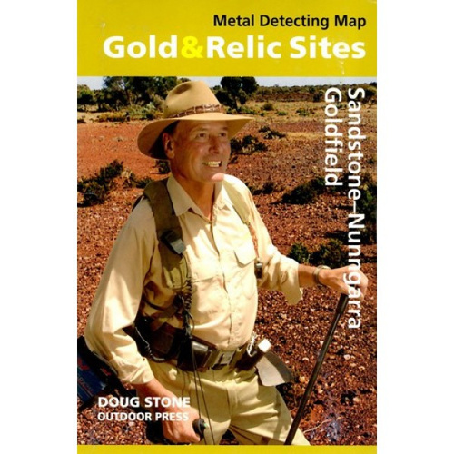 Doug Stone Sandstone Nunngarra - Goldfields Map