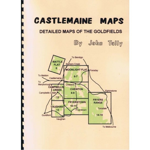John Tully Castlemaine Goldfields Map