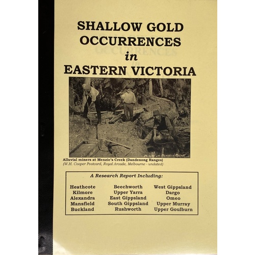Shallow Gold Occurrences in Eastern Victoria